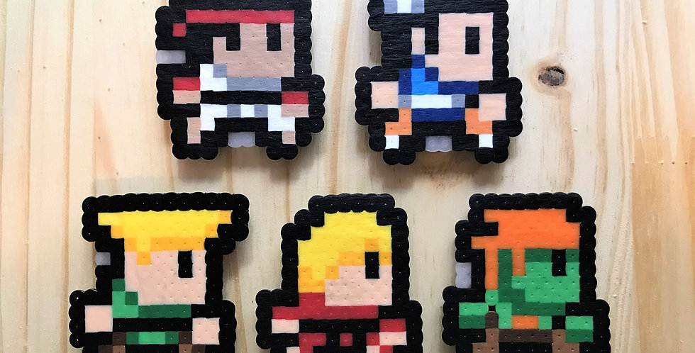 Street Fighter Magnets