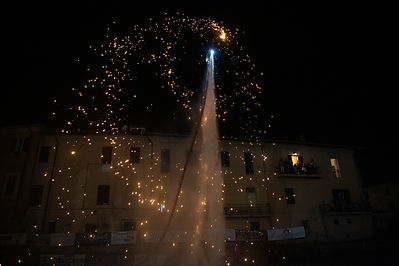 flyboard show notturna led rieti