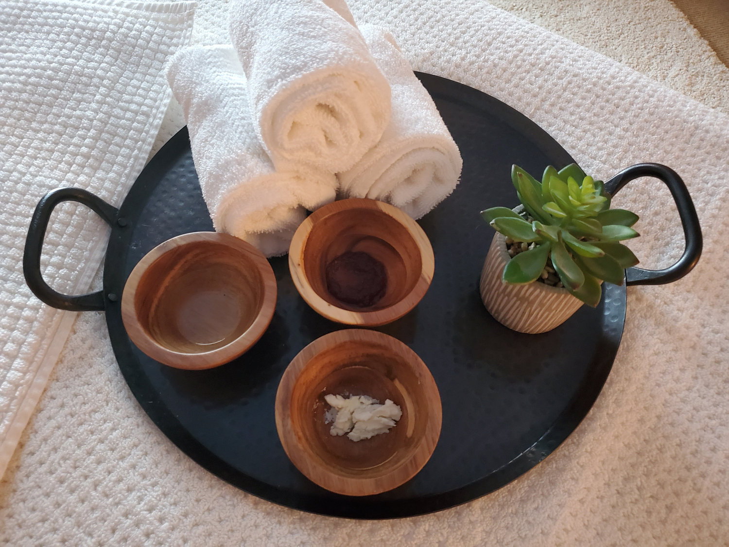 Scrub and Wrap Pampering