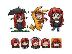 CarniFool Twitch illustrations