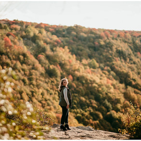 Madison Senior Photos 2020 | Black Water Falls State Park | Davis, West Virginia |