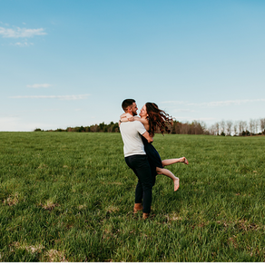 Bree + Cam | Summer Family + Couples Session | Ithaca, New York |