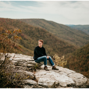 Isaac Senior Pictures 2020 | Blackwater Falls State Park |
