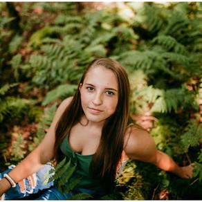 Shayla Senior Photos | Audra State Park, West Virginia |