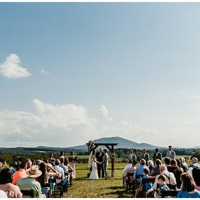 Shay + Mitchell   West Virginia Summer Wedding  