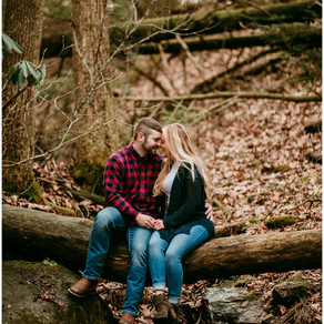 Gillian + Caleb  | Audra State Park | Buckhannon, West Virginia |