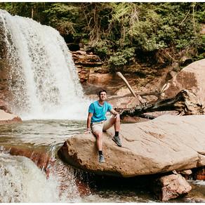 Alek Senior Photos | Black Water Falls State Park |