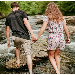 Caitlyn + Dalton | Summer Couples Session | Fiddlers Mill, West Virginia |