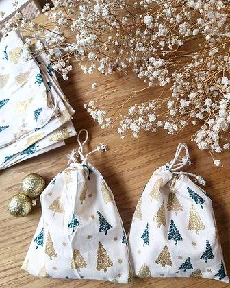 Emballage en tissu hivernal ❄