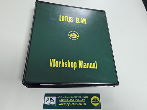 Workshop Manual - Elan 1962-1973