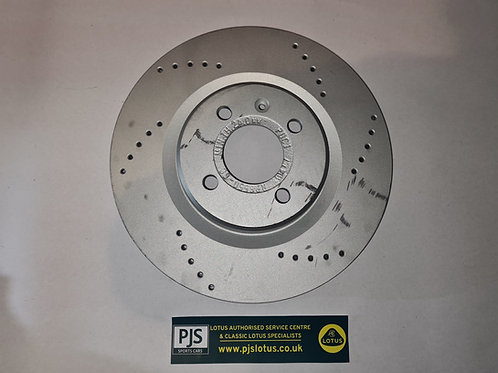Brake Disc, cross drilled (Pair) - Elise S2
