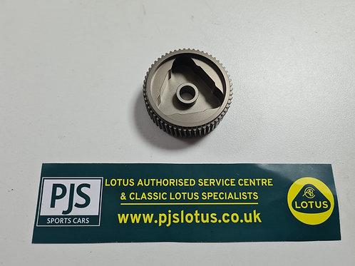 Headlamp motor aluminium gear upgrade
