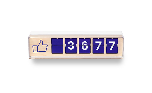 Smiirl Facebook Counter - 5 Digits (excl. btw)