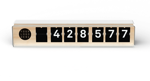 Custom Counter 7-Digits (excl. btw)