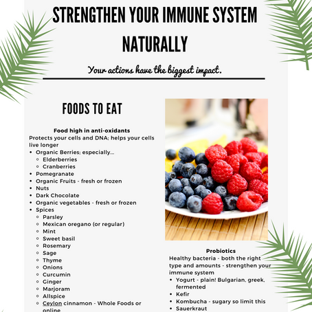 Special Edition: Strengthen Your Immune System Naturally