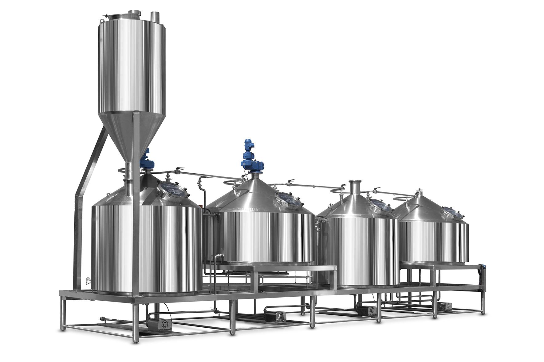 Tanques de Processos em Aço Inox