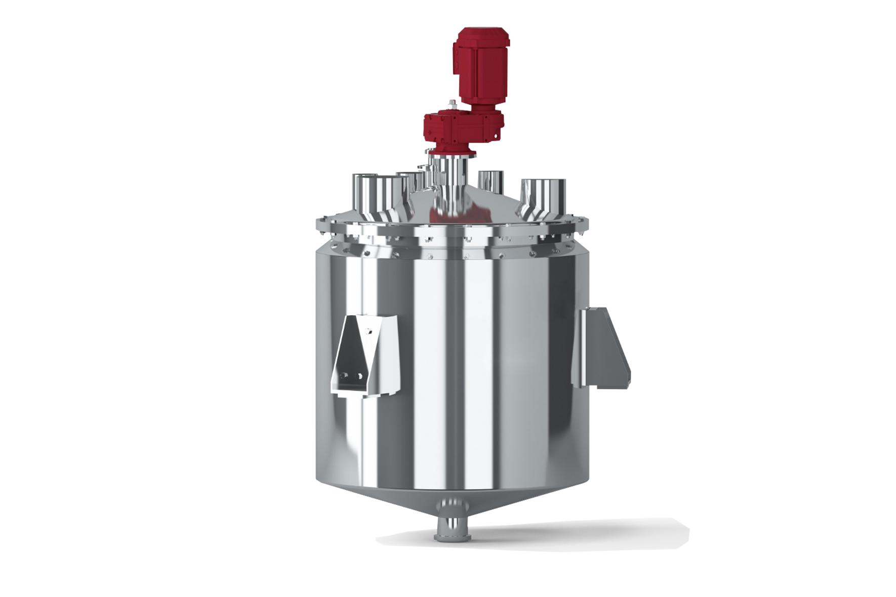 Reator de Inox para processo de cremes, pomadas, doces, balas, tintas, injetáveis, pó e alimentos