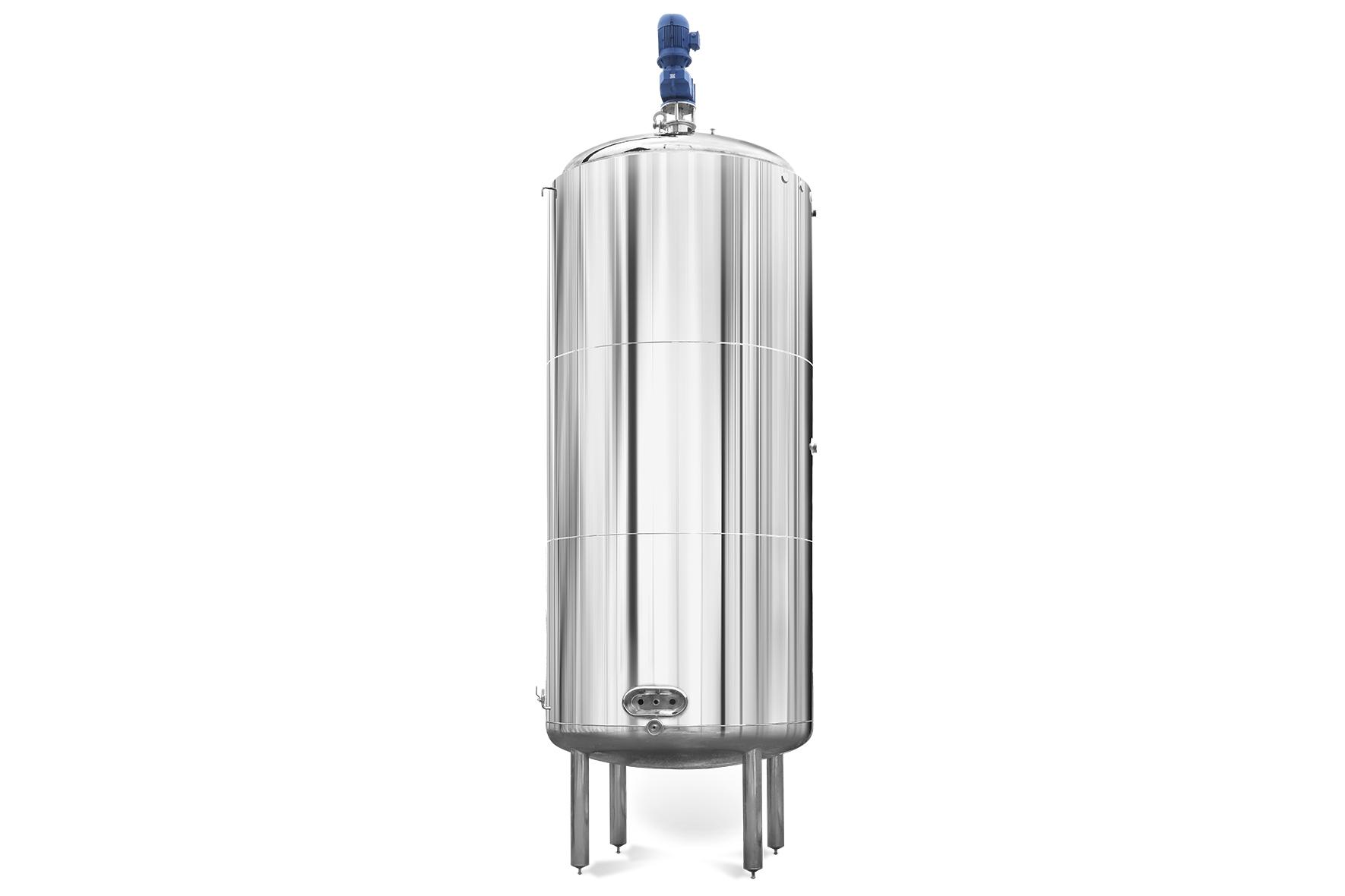 Tanque Misturador em Aço Inox para Alimentos, Bebidas e Químicos
