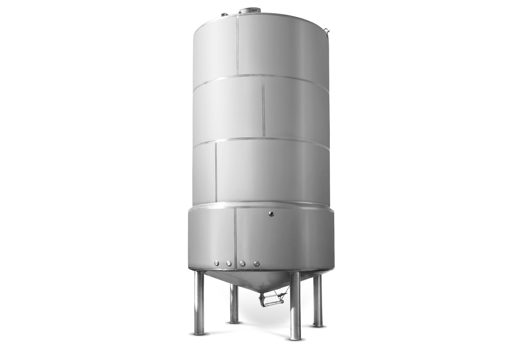 Tanque Vertical - Silo Vertical Inox