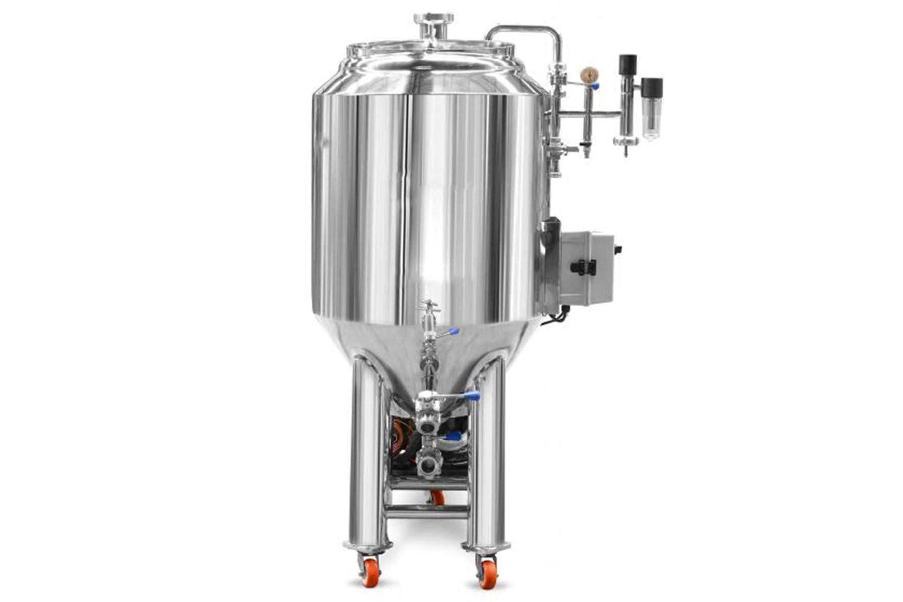 Fermentador de Cerveja Auto Refrigerado em Inox