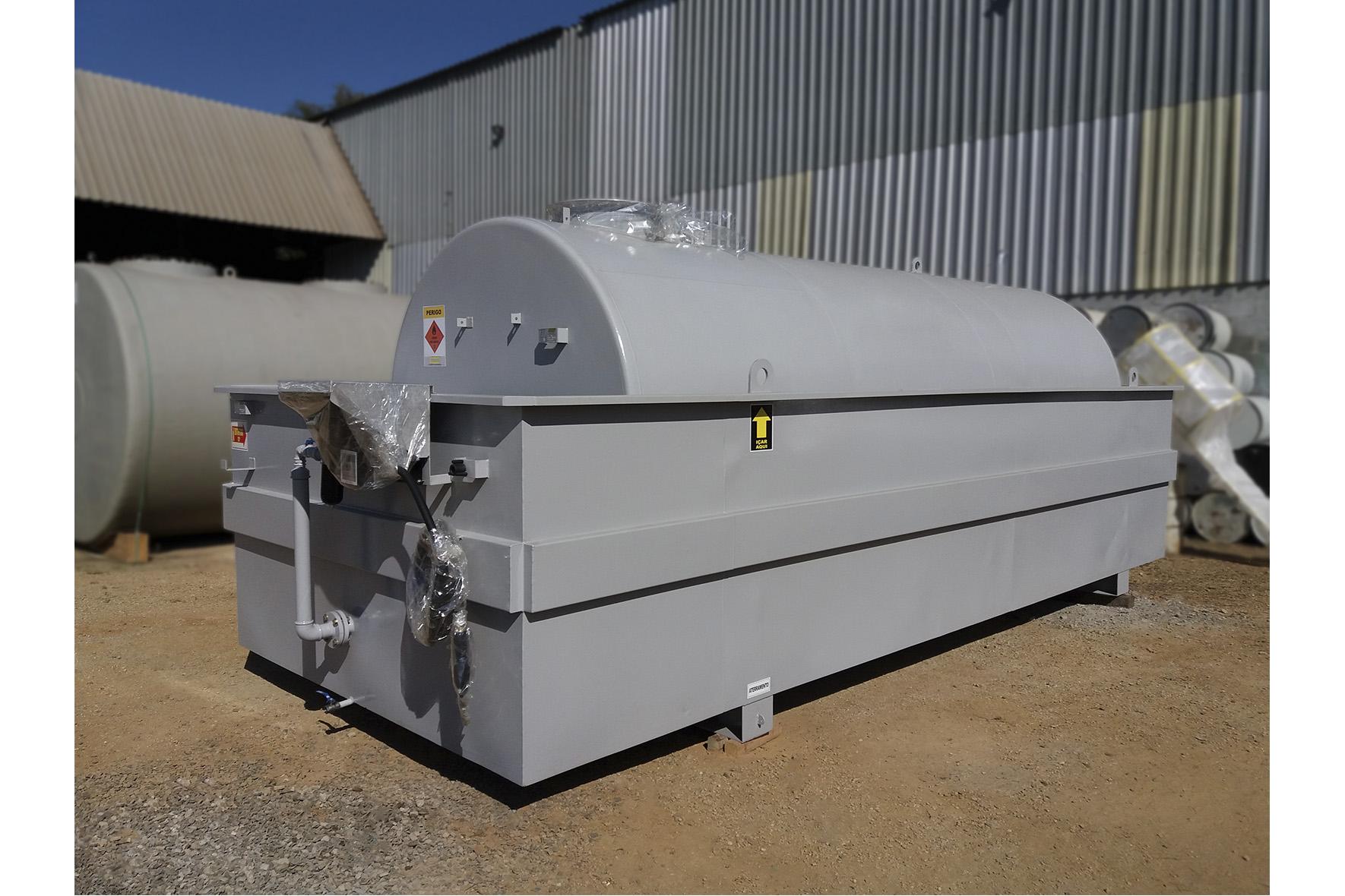 Módulo de Abastecimento em Aço Carbono