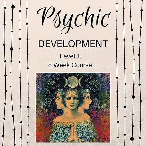 Psychic Development 8 Week Course 11th September 2018