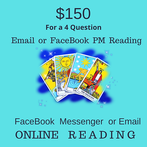 4 Question Email Psychic Reading
