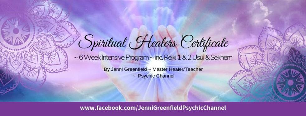 Spiritual Healers Certification 6 Week C