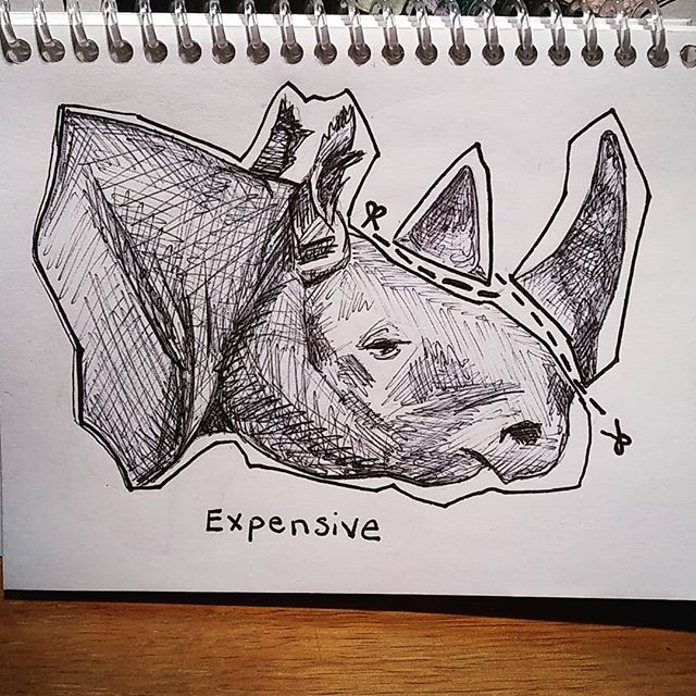 Inktober day 22_ expensive ._._. ._. ._.