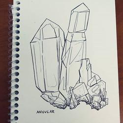Inktober day 16_ angular ._._._._._._._.