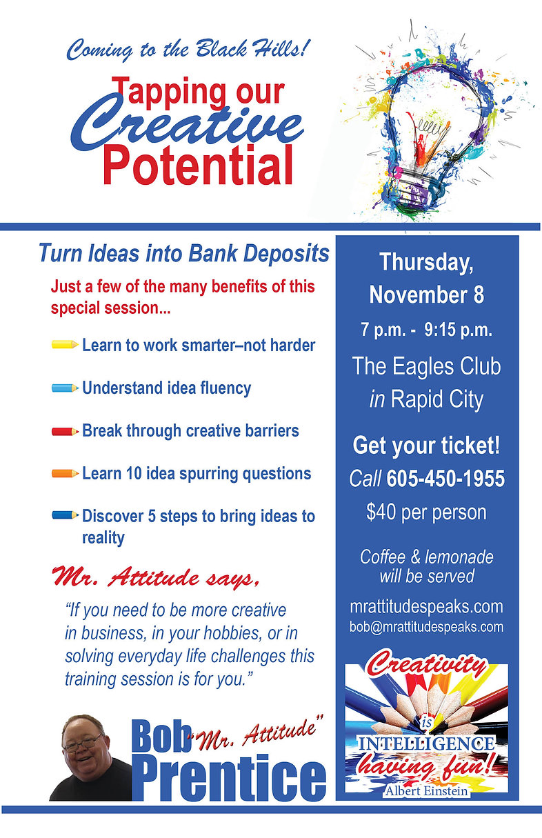 Tapping Our Creative Potential Flyer -1