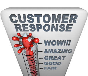 CUSTOMER SERVICE THAT SIZZLES