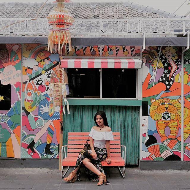 Entrance of Sea Circus Bali