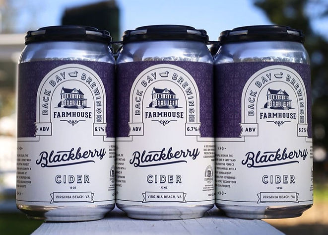 Blackberry Cider from Back Bay Brewery Co.'s Farmhouse