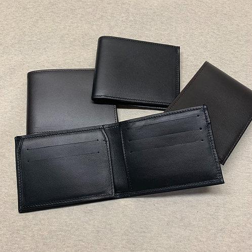 Portafoglio da uomo con aletta porta documento