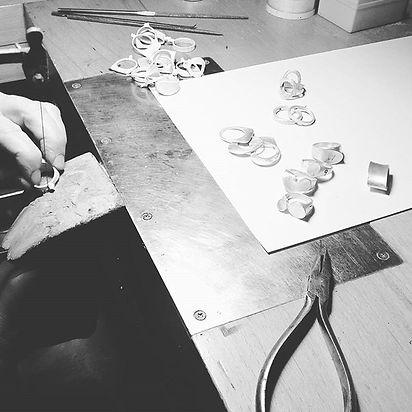 proceso artesanal joyeria