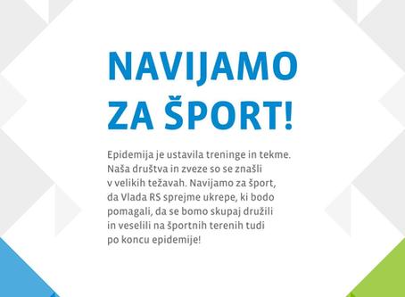 Predlog ukrepov OKS za pomoč slovenskemu športu