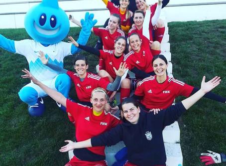Katarina Jagarinec: »Na prvem mestu rekreacija in užitek pri igri«