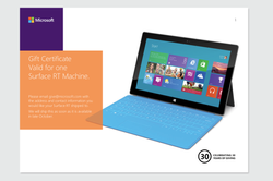 Surface Give Away