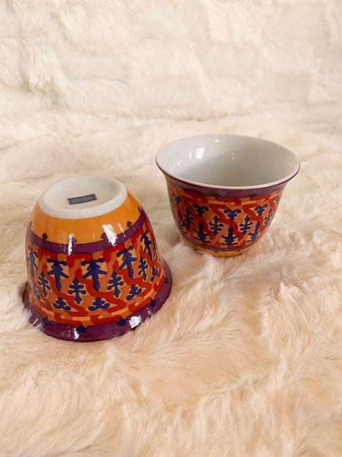 Tasse en porcelaine Vagabonde