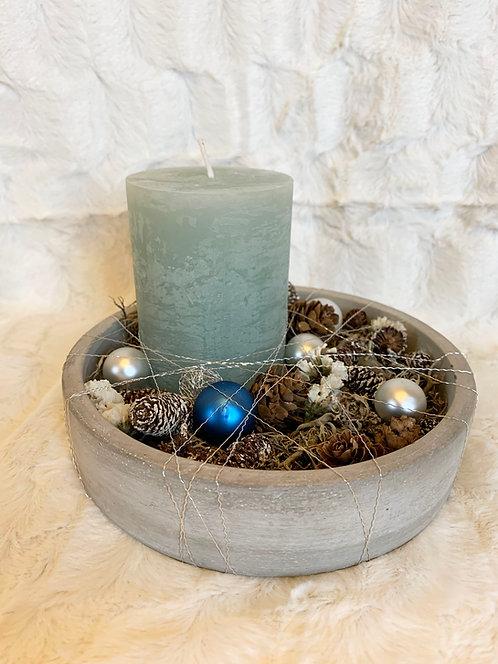 Décoration bougies -Moyen modèle