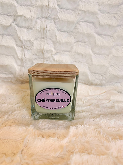 Bougie Chèvrefeuille - Taille M