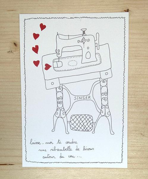 Carte postale - Amour