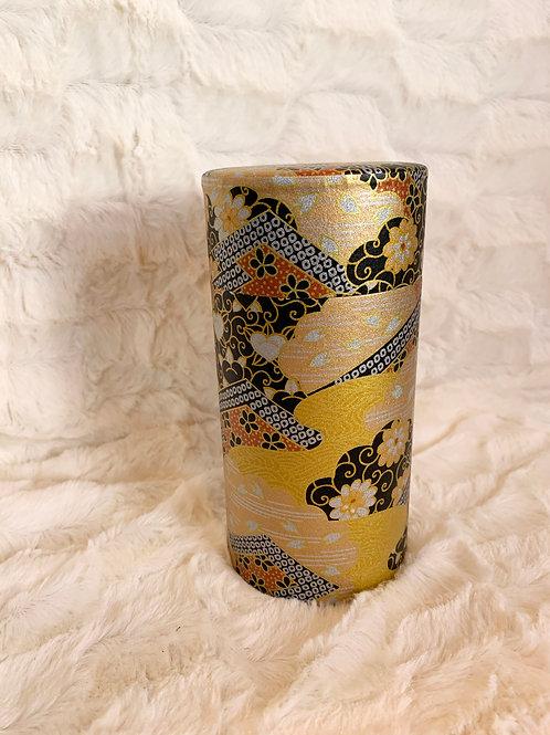 Boite à thé ou tisane en papier Washi