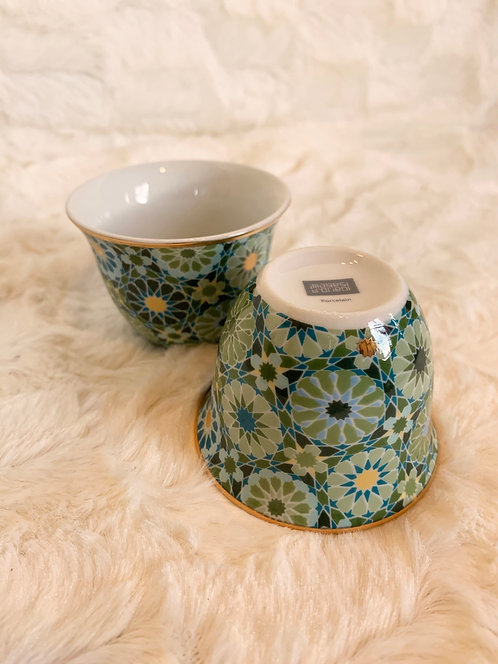 Tasse en porcelaine Andalousia