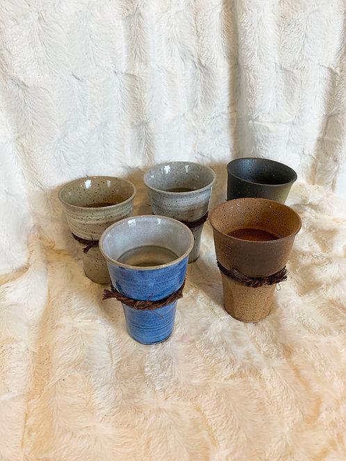 Coffret 5 Tasses japonaise en faïence