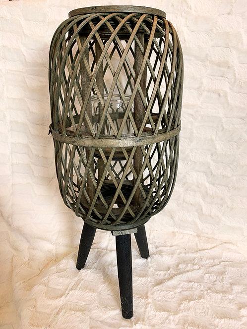 Lanterne en bambou - Grand modèle