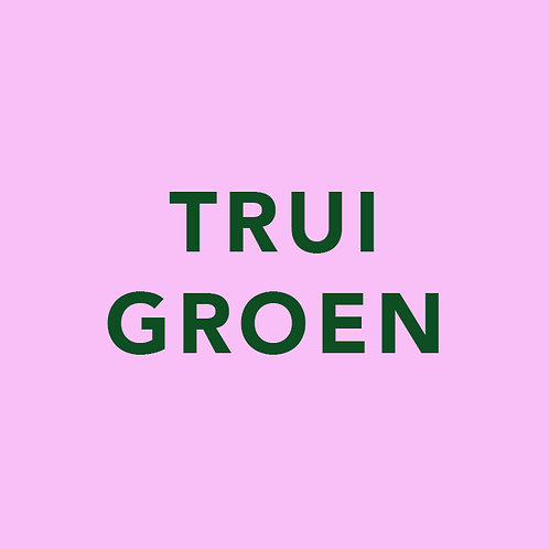 Trui groen