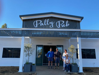 Freshly Renovated Pally Pub Reopens!