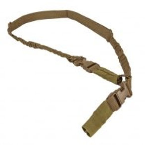 VISM® by NcSTAR® 2 POINT OR 1 POINT SLING WITH METAL SPRING CLIPS - TAN